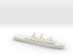 Albion-class LPD, 1/3000 in White Natural Versatile Plastic