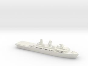 Albion-class LPD, 1/3000 in White Natural Versatile Plastic