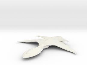 Xindi Aquatic Dreadnought in White Natural Versatile Plastic