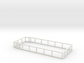 MA20 Silage racks in White Natural Versatile Plastic: 1:64