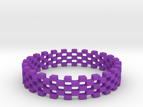 Continum Ring (US Size-6)  in Purple Processed Versatile Plastic: 6 / 51.5