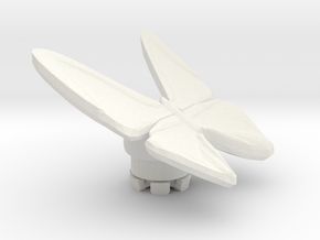 FLEURISSANT - Butterfly #2 in White Natural Versatile Plastic