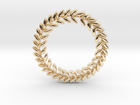 Victorious in 14k Gold Plated Brass