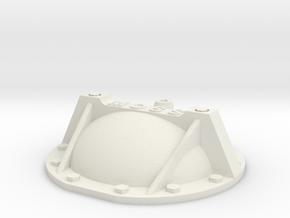 69 Camaro rear cover braced w bolts 1/12 in White Natural Versatile Plastic: 1:12