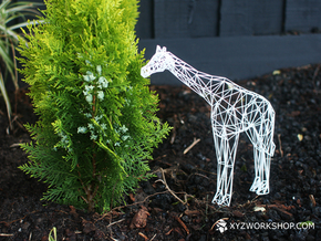 Digital Safari - Giraffe (Medium) in White Natural Versatile Plastic