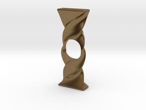 Twist Spinner in Natural Bronze
