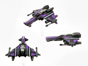 3-Pack Kihraxz Style Vaksai Fighter - Variant 2A in Frosted Extreme Detail