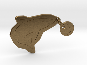 Underwater Food Chain in Natural Bronze (Interlocking Parts)
