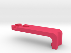 Arty Bot - End Arm in Pink Processed Versatile Plastic