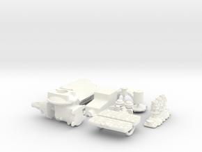 1/18 Flathead W Offy Head Triple Deuce in White Processed Versatile Plastic