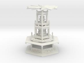 Glühweinpyramide - 1:220 / 1:120 / 1:160 / 1:87 in White Natural Versatile Plastic: 1:120