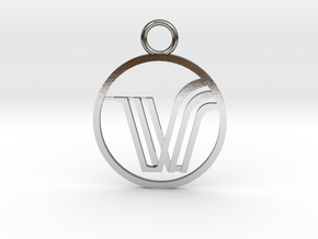 VitaMist pendant in Polished Silver