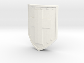 Classic Shield for A Link Between Worlds Figma in White Processed Versatile Plastic