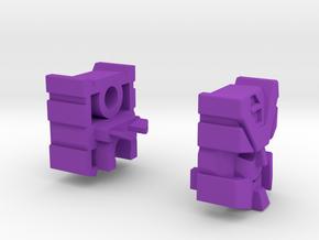 Streetjacker Head G1 Toy in Purple Strong & Flexible Polished