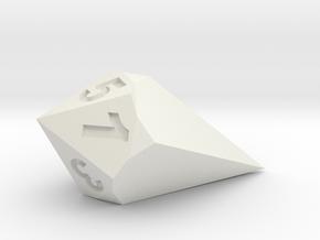 d5 Shard in White Natural Versatile Plastic