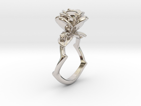 A Bewitching in Rhodium Plated Brass