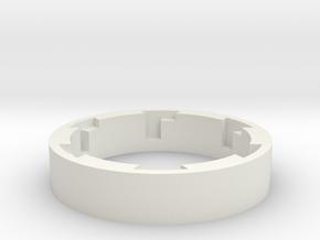 ESB/TFA Grip Guide Version A Lock-92mm in White Natural Versatile Plastic