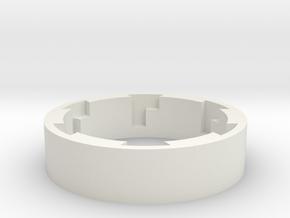 ESB/TFA Grip Guide Version A Lock-90mm in White Natural Versatile Plastic