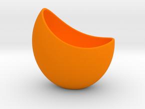 Capsule Planter Pot (small) in Orange Processed Versatile Plastic