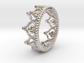 """Diadem"" Crown Ring in Platinum: 5 / 49"