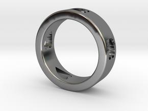 LOVE RING Size-13 in Premium Silver