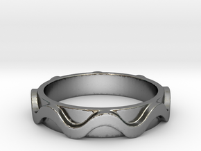 Copa band Ring Size 7.5 in Polished Silver: 7.5 / 55.5