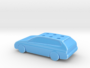Game Of Life Car Wedding Cake Topper (scaled 85%) in Gloss Blue Porcelain