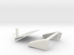 1:6 scale Hasbro HMMWV Slant back in White Strong & Flexible