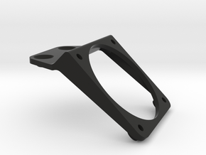 Yokomo YD2 fanmount - screw edition in Black Strong & Flexible