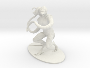 Demogorgon Miniature in White Strong & Flexible
