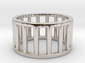 Albaro Ring Size-5 in Platinum