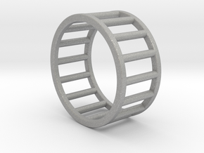 Albaro Ring- Size,8 in Aluminum