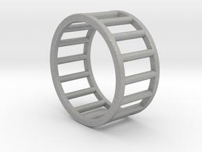 Albaro Ring- Size,8 in Aluminum