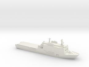 Rotterdam LPD in White Natural Versatile Plastic: 1:350