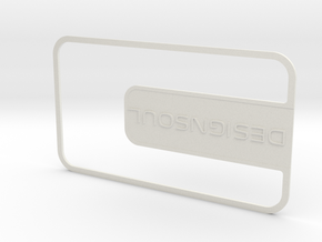 Customizable Businesscard in White Strong & Flexible
