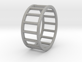 Albaro Ring Size-11 in Aluminum