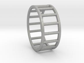Albaro Ring- Size, 12 in Aluminum
