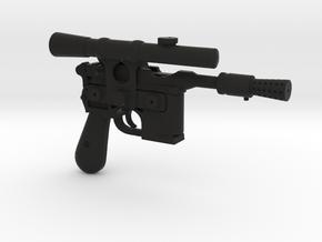 1/6 scale DL44 Blaster Pistol Blaster in Black Strong & Flexible