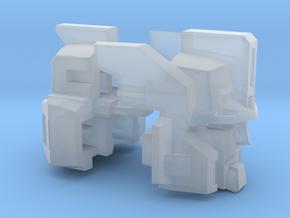 Cannon Master Leader Head in Smooth Fine Detail Plastic: Medium