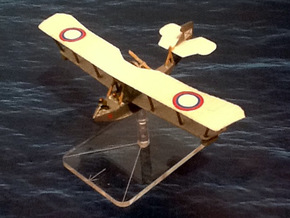 Grigorovich M-9 Flying Boat in White Natural Versatile Plastic: 1:144