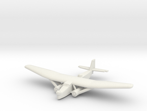 Farman F.222 (1/285) in White Natural Versatile Plastic