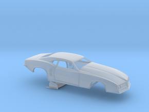 1/64 68 Firebird Pro Mod No Scoop in Smoothest Fine Detail Plastic