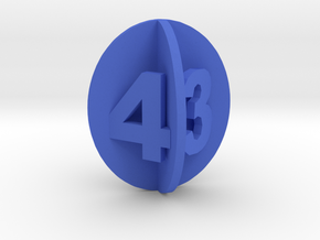 d4 spheroid envelope in Blue Strong & Flexible Polished