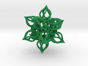 'Kaladesh' D20 Balanced Gaming Die LARGE in Green Processed Versatile Plastic