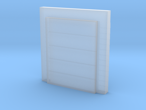 'N Scale' - 8'x10'Dock Door w/ Seal in Smooth Fine Detail Plastic