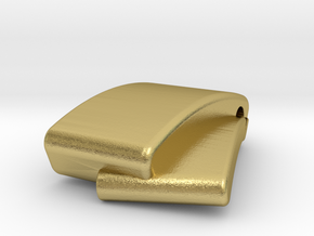 Classic Pendant in Natural Brass