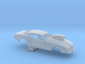1/43 68 Firebird Pro Mod W Scoop in Smoothest Fine Detail Plastic