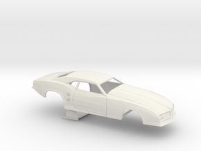 1/16 68 Firebird Pro Mod No Scoop in White Natural Versatile Plastic