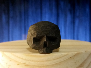 Calavera #8 in Matte Black Steel: 8 / 56.75