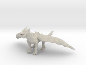 Dragon Statue in Natural Sandstone